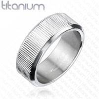 "Ring in Titanium ""Barke"""