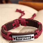 "Leather Bracelet ""Vergeven"""