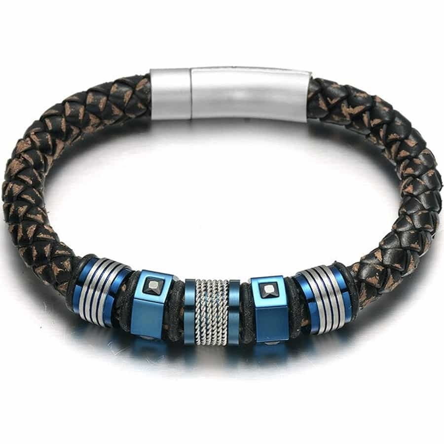 Kings Blue heren armband
