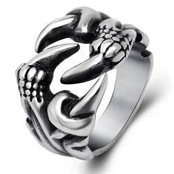 Mens ring klauw