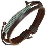 "Armband ""Army Leather"""