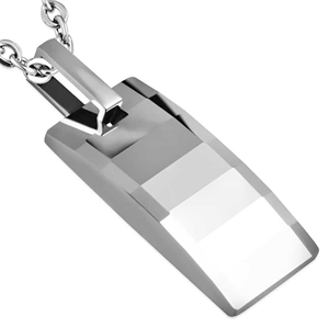 """Tungsten straight"" Ketting"