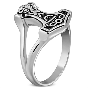Thors hamer heren ring
