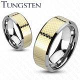 "Tungsten ring ""Gold"""